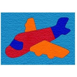 Crepe Rubber Puzzle-Airplane