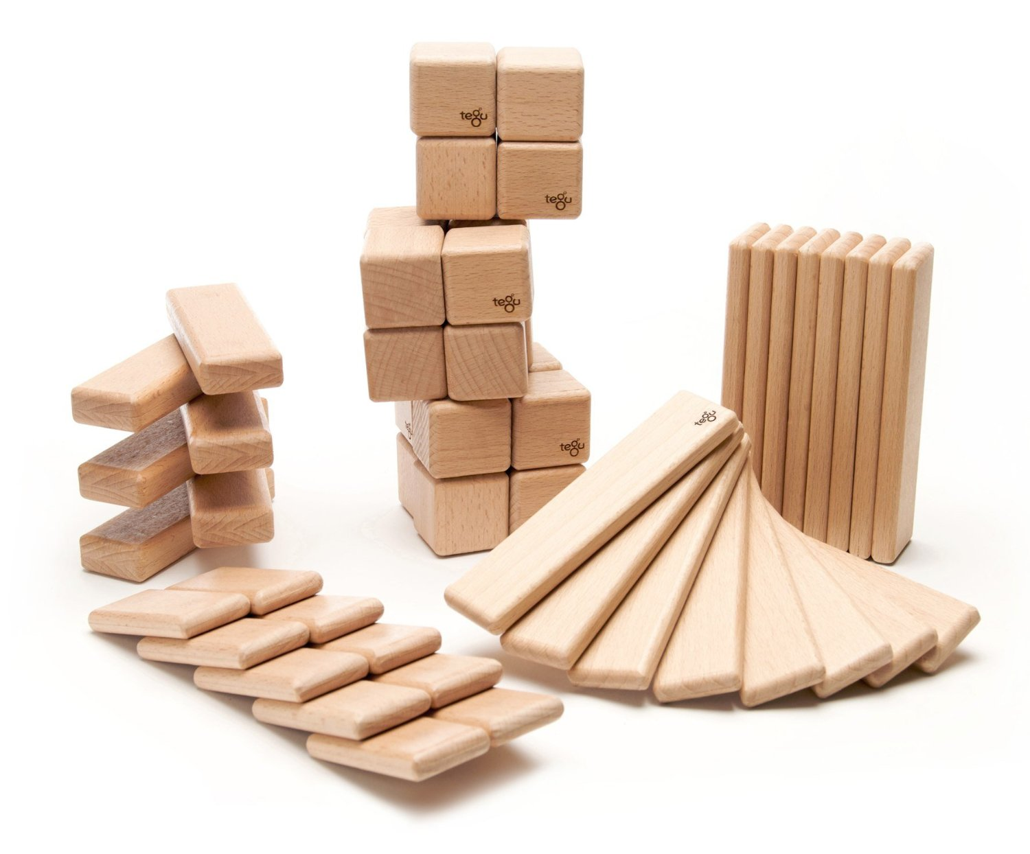 Magnetic Wooden Block Set, Original